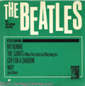 "Music Memorabilia:Recordings, ""The Beatles With Tony Sheridan and Guests"" LP MGM E 4215 Mono(1964)...."