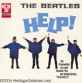 "Music Memorabilia:Recordings, Beatles ""Help"" LP Hor Zu (Germany c. 1970-73)...."