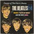 "Music Memorabilia:Recordings, Beatles ""Souvenir of Their Visit to America"" EP Vee-Jay 1-903 Cover (1964)...."