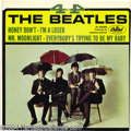 "Music Memorabilia:Recordings, Beatles ""4 - By the Beatles"" EP Capitol R-5365 Mono...."