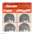"""Music Memorabilia:Recordings, Beatles """"And I Love Her""""/""""Ringo's Theme (This Boy)"""" Picture SleeveUnited Artists (1964)...."""