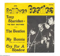 "Music Memorabilia:Recordings, Beatles - ""My Bonnie"" Picture Sleeve Promo 45 Polydor 2801033(Germany)...."