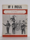 "Music Memorabilia:Miscellaneous, Beatles - ""If I Fell"" Sheet Music (1964)...."