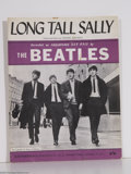 "Music Memorabilia:Miscellaneous, Beatles - ""Long Tall Sally"" Sheet Music (1964)...."