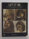 "Music Memorabilia:Miscellaneous, Beatles - ""Let It Be"" Sheet Music (1970)...."