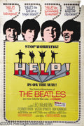 Music Memorabilia:Posters, Help! (United Artists, 1965)....