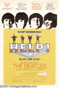 Music Memorabilia:Posters, Help (United Artists, 1965)....