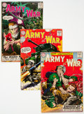 Silver Age (1956-1969):War, Our Army at War #84, 87, and 88 Group (DC, 1959) Condition: Average VG-.... (Total: 3 Comic Books)