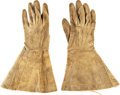 Militaria:Uniforms, Officer's Gauntlets I.D.'d to New York Soldier.. ...