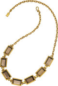 Estate Jewelry:Necklaces, Smoky Quartz, Gold Necklace, H. Stern . ...