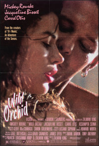 "Wild Orchid & Other Lot (Triumph, 1989). Folded, Overall: Very Fine. One Sheets (2) (27"" x 40"" & 27&qu..."