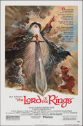 "Movie Posters:Animation, The Lord of the Rings (United Artists, 1978). Folded, Very Fine+. One Sheet (27"" X 41""). Tom Jung Artwork. Animation.. ..."