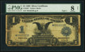 Large Size:Silver Certificates, Fr. 233* $1 1899 Silver Certificate PMG Very Good 8 Net.. ...