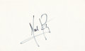Explorers:Space Exploration, Neil Armstrong Signature. ...