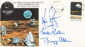 "Explorers:Space Exploration, Apollo 11 Crew-Signed ""Type One"" Insurance Cover with MSCSC Cachet. ..."
