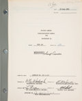 """Explorers:Space Exploration, McDonnell """"NASA Project Gemini Familiarization Manual For Spacecraft #1"""" Book, SEDR 300, Serial Number 113. ..."""