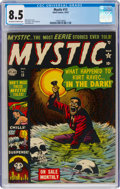 Golden Age (1938-1955):Horror, Mystic #13 (Atlas, 1952) CGC VF+ 8.5 Off-white to white pages....