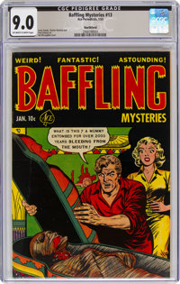 Baffling Mysteries #13 Northford Pedigree (Ace, 1953) CGC VF/NM 9.0 Off-white to white pages