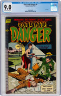 Golden Age (1938-1955):Adventure, Date With Danger #5 (Standard, 1952) CGC VF/NM 9.0 Off-white to white pages....