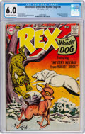 Silver Age (1956-1969):Humor, Adventures of Rex the Wonder Dog #38 (DC, 1958) CGC FN 6.0 Off-white to white pages....