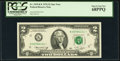 Small Size:Federal Reserve Notes, Fr. 1935-K* $2 1976 Federal Reserve Note. PCGS Superb Gem New 68PPQ.. ...