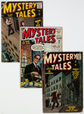 Golden Age (1938-1955):Horror, Mystery Tales #29, 46, and 54 Group (Atlas, 1955-57) Condition: Average GD+.... (Total: 3 Comic Books)