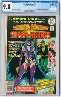 DC Super-Stars #17 (DC, 1977) CGC NM/MT 9.8 Off-white to white pages