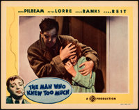 """The Man Who Knew Too Much (Gaumont, 1934). Very Fine+. Lobby Card (11"""" X 14"""")"""