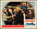 """Movie Posters:Western, Stagecoach (United Artists, 1939). Fine/Very Fine. Autographed Lobby Card (11"""" X 14"""").. ..."""