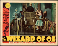 "The Wizard of Oz (MGM, 1939). Very Fine+. Lobby Card (11"" X 14"")"