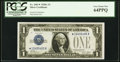 Small Size:Silver Certificates, Fr. 1601* $1 1928A Silver Certificate. PCGS Very Choice New 64PPQ.. ...