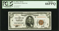 Fr. 1850-C $5 1929 Federal Reserve Bank Note. PCGS Gem New 66PPQ
