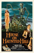Movie Posters:Horror, House on Haunted Hill (Allied Artists, 1959). Very Fine- o...