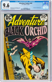 Adventure Comics #430 (DC, 1973) CGC NM+ 9.6 Off-white to white pages