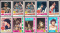 Basketball Cards:Lots, 1974 & 1977 Topps Basketball Collection (341). ...