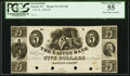 Obsoletes By State:Pennsylvania, Easton, PA- Easton Bank $5 18__ as G48 Proof PCGS Choice About New 55.. ...
