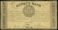Miscellaneous:Other, Canada La Prairie, LC- Henry's Bank 1/4 Dollar 19.6.1837 Very Good.. ...