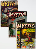 Golden Age (1938-1955):Horror, Mystic #13, 45, and 61 Group (Atlas, 1952-56) Condition: Average GD.... (Total: 3 Comic Books)