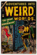 Golden Age (1938-1955):Horror, Adventures Into Weird Worlds #27 (Atlas, 1954) Condition: GD+....
