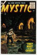 Silver Age (1956-1969):Horror, Mystic #52 (Atlas, 1956) Condition: VG+....