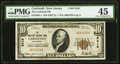 National Bank Notes:New Jersey, Carlstadt, NJ - $10 1929 Ty. 1 The Carlstadt National Bank Ch. # 5416 PMG Choice Extremely Fine 45.. ...