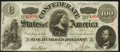 Confederate Notes:1863 Issues, T56 $100 1863 Choice About Uncirculated.. ...