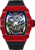 Timepieces:Wristwatch, Richard Mille, RM 035-02 Rafael Nadal, Self Winding, Red Carbon TPT Case, Circa 2017. ...