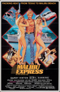 "Movie Posters:Action, Malibu Express & Other Lot (Malibu Bay Films, 1985). Folded, Fine/Very Fine. One Sheets (3) (27"" X 41"" & 27"" X 40""). SS, Lar... (Total: 3 Items)"