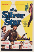 "Movie Posters:Western, The Silver Star & Other Lot (Lippert, 1955). Folded, Very Fine-. One Sheet (27"" X 41"") & Australian Daybill (13.25"" X 30"". W... (Total: 2 Items)"