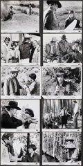 "Movie Posters:Western, True Grit (Paramount, 1969). Very Fine-. Photos (18) & Mini Lobby Cards (4) (8"" X 10""). Western.. ... (Total: 22 Items)"