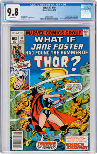 What If? #10 (Marvel, 1978) CGC NM/MT 9.8 White pages