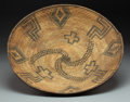 American Indian Art:Baskets, An Apache Coiled Tray...