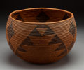 American Indian Art:Baskets, A Maidu Coiled Bowl ...