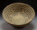 American Indian Art:Baskets, A Large Papago Coiled Bowl...